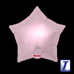 Ibrex Zvijezda Metallic Light Pink folija balon