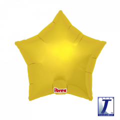 Ibrex Zvijezda Metallic Gold folija balon