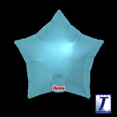 Ibrex Zvijezda Metallic Light Blue folija balon