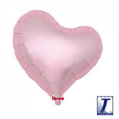 "Ibrex ""Sweet"" Srce Metallic Light Pink folija balon"
