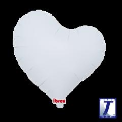 "Ibrex ""Sweet"" Srce White folija balon"