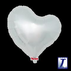 "Ibrex ""Sweet"" Srce Metallic Silver folija balon"