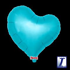 "Ibrex ""Sweet"" Srce Metallic Light Blue folija balon"