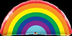 Maxi Bright Rainbow folija balon