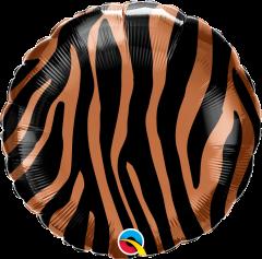 Standard Tiger Stripes Pattern folija balon