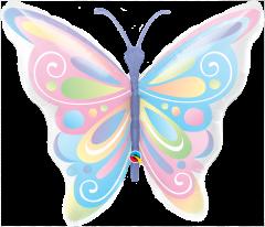 Maxi Beautiful Butterflies folija balon