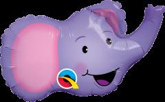 Mini Elated Elephant folija balon na palčki