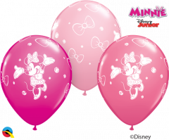 Lateks baloni 28cm Minnie Mouse Special Ast 1 Kos