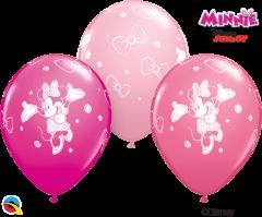Lateks baloni 28cm Minnie Mouse Special Ast 25 Kos