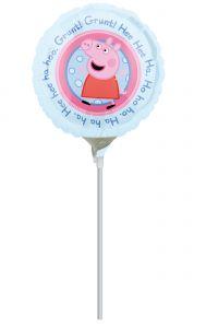 Mini Peppa Pig folija balon na palčki
