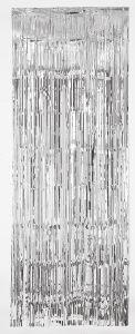 Silver Metallic PVC zavesa