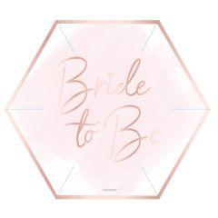 Bride To Be krožniki 23cm