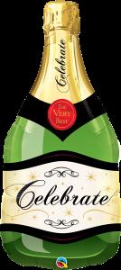 Maxi Celebrate Bubbly Wine Bottle folija balon