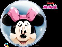 Bubble Minnie Mouse pvc balon