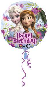Standard Frozen Happy Birthday folija balon