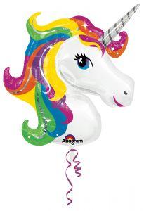 Maxi Rainbow Unicorn folija balon