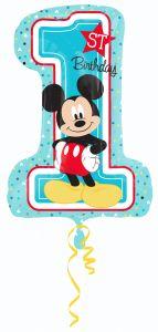 Maxi Mickey 1st Birthday folija balon