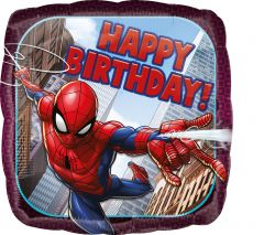 Standard Spider-Man Happy Birthday folija balon