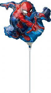 Mini Spider-Man folija balon na palčki
