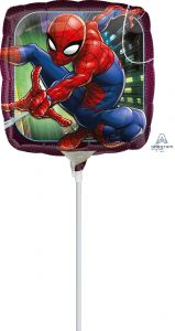 Mini Spider-Man Animated folija balon na palčki