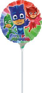 Mini PJ Masks folija balon na palčki