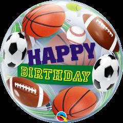 Bubble Bday Sport Balls pvc balon