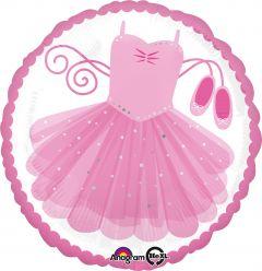Standard Ballerina Tutu folija balon