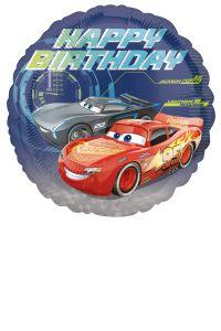 Standard Cars - Happy Birthday folija balon