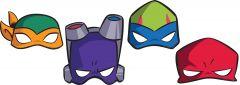 Rise Of The Teenage Mutant Ninja Turtles maske