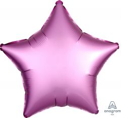 Standard zvezda Satin Luxe Flamingo folija balon