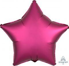 Standard zvezda Satin Luxe Pomegranate folija balon