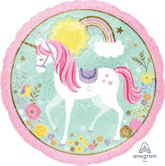 Standard Magical Unicorn folija balon