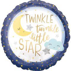 Standard Twinkle Little Star folija balon