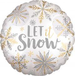 Shining Snow Satin folija balon