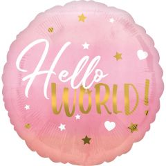 Standard HX Pink Baby Girl folija balon