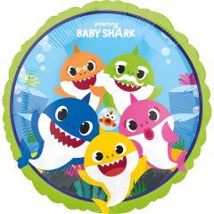 Standard Baby Shark folija balon