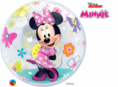 Bubble Minnie Mouse Bow Tique pvc balon