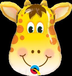 Mini Jolly Giraffe folija balon na palčki