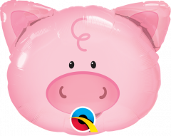 Mini Playful Pig folija balon na palčki
