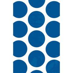 Polka Dot Bright Royal Blue darilna vrečka