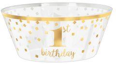 1st Birthday posoda 25 cm