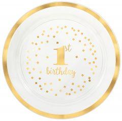 1st Birthday servirni pladenj