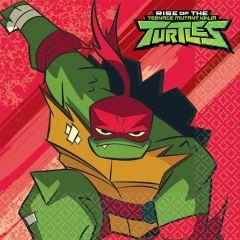 Rise Of The Teenage Mutant Ninja Turtles serviete 33x33 cm