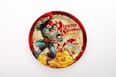 Pirati s karibov papirnati krožniki 23 cm