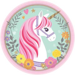 Magical Unicorn krožniki 23 cm