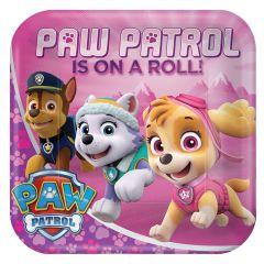 Pink Paw Patrol krožniki 23 cm