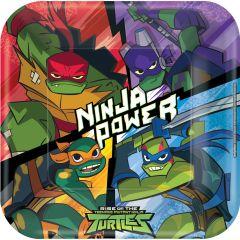 Rise Of The Teenage Mutant Ninja Turtles krožniki 23 cm