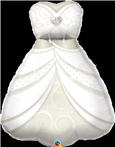 Maxi Bride`s Wedding Dress folija balon