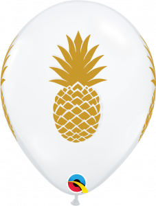 Lateks baloni 28cm Pineapple DC