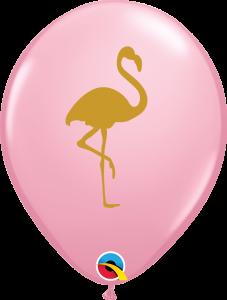 Lateks baloni 28cm Flamingo Pink
